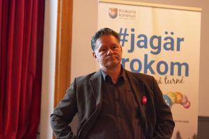 Kommunchefen Jonas Törngren lyssnade till förslag och synpunkter från byborna i Aspås.