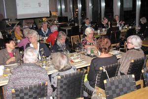Inner Wheels middag följdes av livsviktig brandinformation. Bild: Evelina Jigsäter