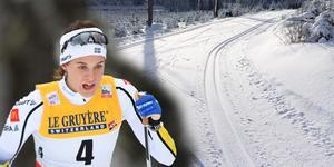 Skidspåren i Leksand riskerar att drabbas när kommunen ska spara. Landslagsåkaren Anna Dyvik tycker det är synd eftersom hon tror det blir färre som kommer åka skidor. (Foto: Klockar Mattias Nääs,Anders Wiklund/ TT)