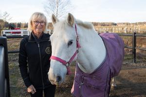 Hästar har alltid spelat en central roll i Margareta Lindius liv.