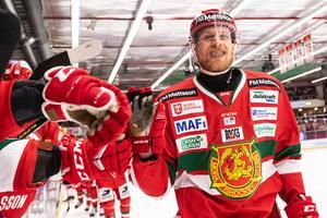Alexander Hilmerson har spelat hela sin karriär i Mora IK. Foto: Daniel Eriksson/BILDBYRÅN