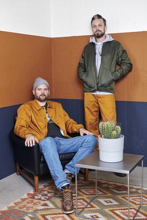 Jonas Skommevik och Thomas Flinn . Foto: Johnny Wohlin.