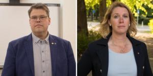 Kommunalråd Anders Wigelsbo (C) och oppositionsråd Ulrika Spårebo (S) lägger partipolitiken åt sidan i hanteringen av coronaviruset, och uppmanar övriga partier att göra detsamma.