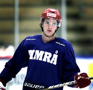 En ung Marcus Högström fick det inte att lossna i Timråtröjan.