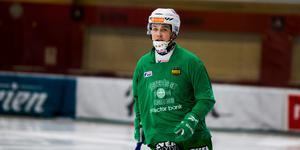 Måns Engström gjorde nio mål i grundserien och i slutspelet har det blivit ytterligare två fullträffar.