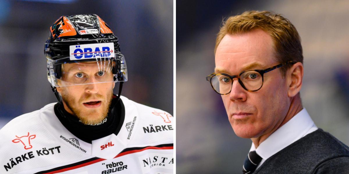 """Örebrotränarens kritik – mot egna spelaren: """"Det är direkt korkat"""""""