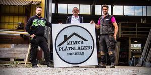 Från vänster: Lars Lundgren, Conny Forsberg och Olof Malm.