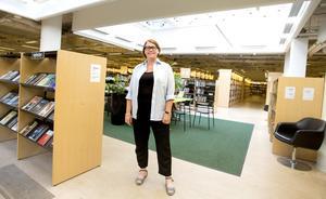 Helena Gomér, bibliotekschef i Södertälje.