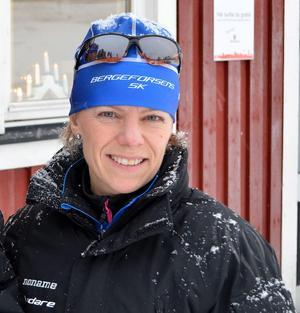 Erika Öhrn är tränare och ledare för Bergeforsens SK.