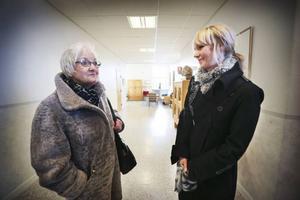 Annmarie Hellby och Malin Lindblad driver båda en skönhetssalong i Östersund. De gick från mötet med många obesvarade frågor. – Det vart hönsgård av alltihopa, säger Hellby.