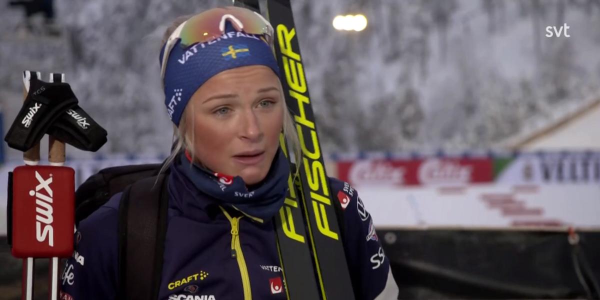 """Frida Karlsson gråtfärdig efter krasch – kritiserar banan: """"Jättebesviken"""""""