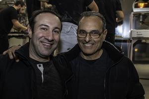 Mauricio Basile från Milano och Alberto Ferrante från Rom är båda glada över att det äntligen finns