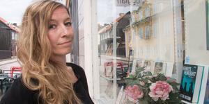 Arbogaförfattaren Linda Åkerström.