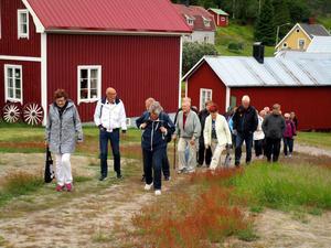 Ett av besöksobjekten var den vackra Näckrosdammen.