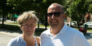 Susanne Kindell och Ove Nyberg