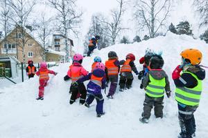 Kids Östersund har 64 barn i fyra barngrupper. Men efter årsskiftet  sänks ersättningen rejält från Östersunds kommun.