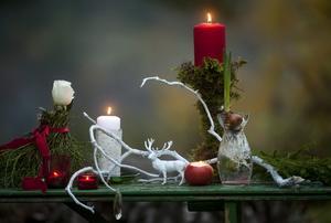 Tänd ett ljus och läs en julberättelse.