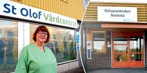 Gun-Inger Soleymanpur, verksamhetschef vid St Olof vårdcentral, är inte direkt förvånad över att Nacksta hälsocentral är på väg att elimineras: