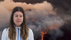 Sofie Gisslén har rapporterat om bränderna i veckan.