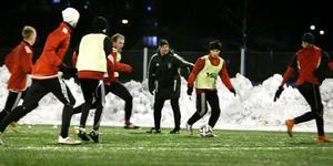 BKV:s olika lag ser inte ut att få träna på Sportcentrums konstgräs under kommande veckor. Foto: Anders Sjöberg