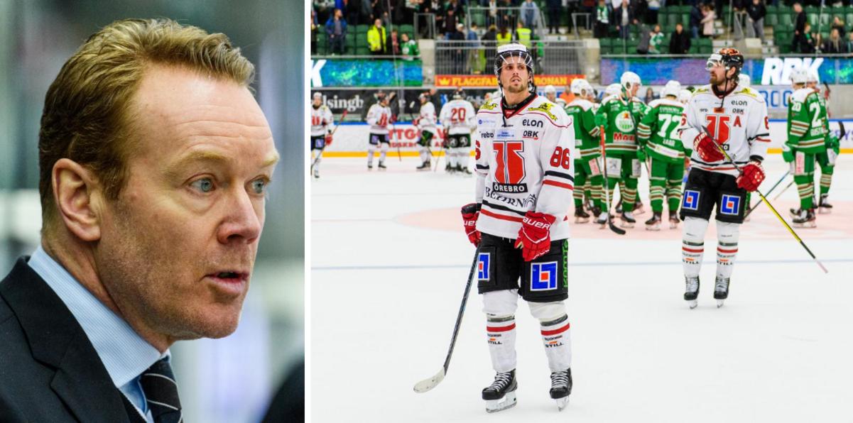 """Örebrotränarens oväntade kritik – efter tunga förlusten: """"Brukar inte säga det"""""""