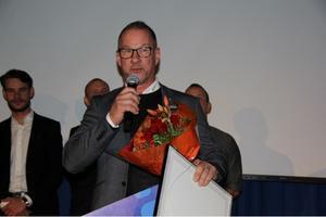 Stefan Gullberg tog emot priset som Årets bubblare vid onsdagens näringslivsdag.