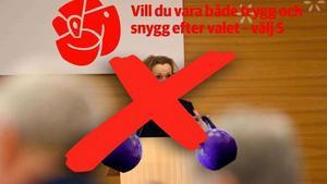 Nej, socialdemokraterna ska inte använda Kettlebells i årets valkampanj. Det är ju första april idag.