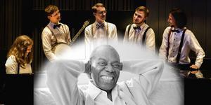 Leon Falk Satchmo Tribute till Nynäshamn och Konstpoolen med en hyllning till jazzlegendaren Louis Armstrong. Foto: Johan Tengbom, Eddie Adams/TT
