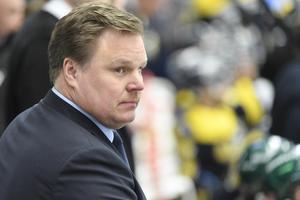 Leif Carlsson är idag Leksandstränare. Foto: Mikael Fritzon/TT