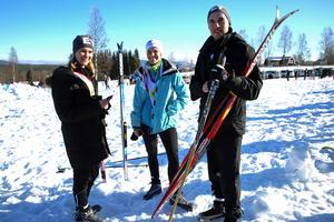 Jenny Hedlund, Malin Svensson och Joakim Svensson från revisionsbyrån EY.