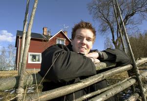 Gabriel Karlsson fotograferades till ett reportage våren 2000. Foto: Arkiv.