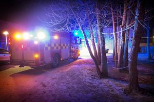 Räddningstjänsten ryckte ut till Storsjöskolan efter larm om röklukt.