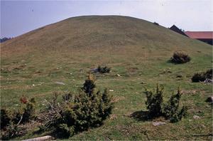 I Västergötland har man därför gärna försökt att hitta platser i landskapet som kunde härröra från Beowulfs tid. Han var kung över geatas och begravdes i sitt eget land. En kandidat för hans grav skulle då vara Skalunda hög på Kålland