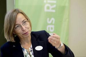 Karin Ahlgren, Gävle kommuns ombud i Lärarnas Riksförbund.