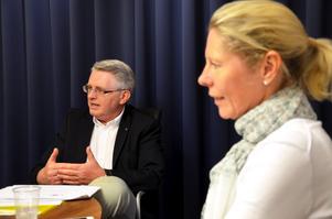 Sture Åtterås och Cecilia Jeffner är ordförande respektive vice ordförande i den nybildade Handelskammaren Bergslagen.