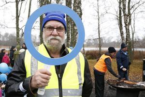 Per Ljungström, sekreterare i Roslagens diabetesförening, är med för första gången. – Nu är Jimmy invald i styrelsen så jag åkte hit från Grisslehamn för att vara med i dag. Det är ett väldigt bra initiativ han gör, säger Per.