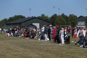 Det var mycket publik som fick njuta av bra fotboll och väder under helgen.