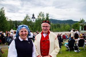 Barbro Andersson och Christer Claesson är rutinerade hambodansare.