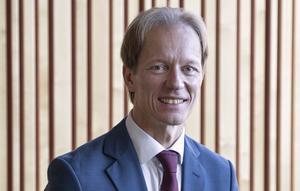 Myndighetschef på Ångermanlands Förvaltningsrätt. lagman, Thomas Hägglöf. Fotograf  Carina Vallin.