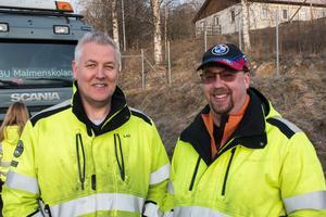 Leif Svensson och Pelle Forsgren är lärare på skolan.