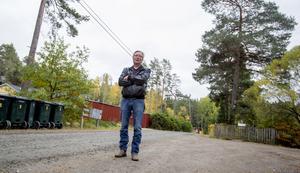 """""""Det känns som att vi bor i Norrlands glesbygd när det gäller infrastrukturen""""."""