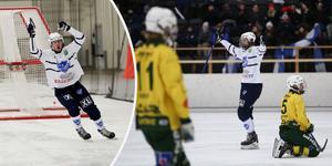 Tim Stjernström och Rasmus Plan – målskyttar mot Ljusdal.