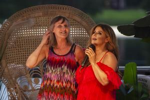 Ingrid Ovanfors fick kliva ut på scenen och sjunga tillsammans med Carola.