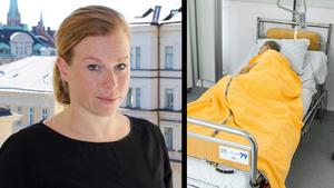 Vi kan minska lidandet på andra sätt än genom att ta liv, till exempel genom bättre palliativ vård, säger Elin Karlsson. Bild: Sveriges läkarförbund / TT