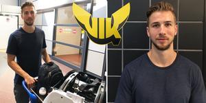 Jerome Leduc anlände till Sverige och Arlanda under torsdagen. Under fredagen väntas den 27-årige kanadensaren göra sin första träning med VIK.