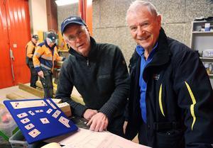 Projektledaren Svenne Grinde och konstruktören Tommy Erixon