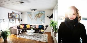 När den äldsta sonen Leo var sju månader och lägenheten i centrala Örnsköldsvik blivit alldeles för liten bestämde sig familjen Lindström för att blicka utåt mot möjligheten att skaffa en villa och där fick de syn på det lilla huset där de nu har stannat i 17 år: Beläget alldeles vid Själevadsfjärden.