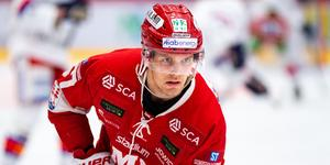 Anton Wedin uppges välja spel i Nordamerika och NHL. Bild: Pär Olert/Bildbyrån.