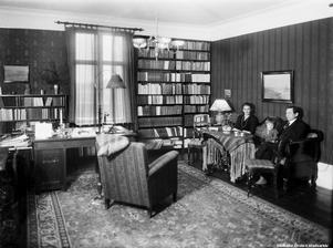 Rektor Malte Mårtenssons bostad, 1930-tal. Foto: Eric Sjöqvist/Örebro stadsarkiv