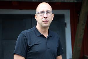 Magnus Andersson (S), kommunstyrelsens ordförande i Hallsberg är glad över att renoveringen är gjord.